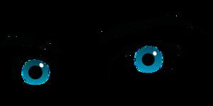 Zeichnung der Augenpartie eines Menschen.